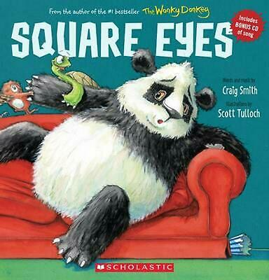 Square Eyes by Craig Smith Paperback Book Free Shipping!