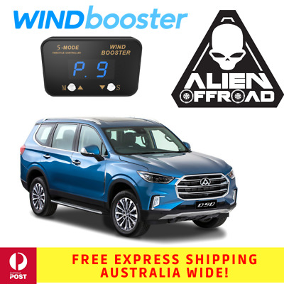 Windbooster Stealth 5-Mode Throttle Controller for LDV D90 from 2017 Onwards