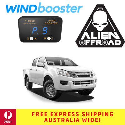 Windbooster Stealth 5-Mode Throttle Controller for Isuzu DMAX 2007-2011