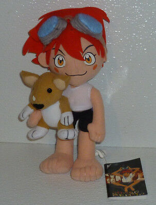 Cowboy Bebop Plush Doll Toy Ed with Ein New With Tags 8.5""