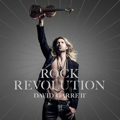 David Garrett - Rock Revolution Cd ~ Classical Pop Violin Violinist *new*