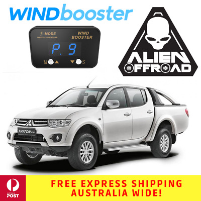 Windbooster Stealth 5-Mode Throttle Controller to suit Mitsubishi ML/MN Triton