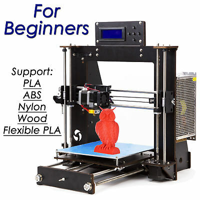 For Beginners 3D Printer Kit Prusa i3 Pro B LCD2004 Brand New & High Quality AU