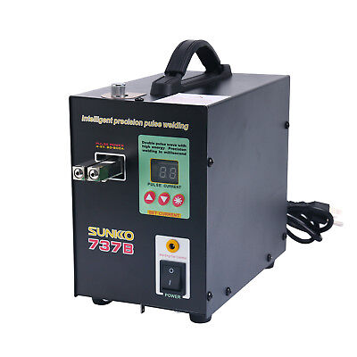 SUNKKO 737B LED Light Pulse Spot Welder Battery Welding and Soldering Machine
