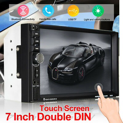 7 inch 2Din HD Car Touch LCD Screen Stereo Audio Radio MP5 Player Bluetoot1080P