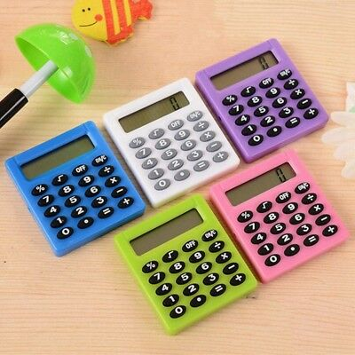 Protable Pocket Student Mini Electronic Calculator School Office Supplies Kids