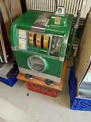 Caille Doughboy nickel 5 cent Slot Machine 1935