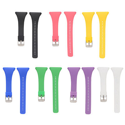 Luxury Replacement Silicone Wrist Watch Band Strap Bracelet for POLAR FT4 / FT7