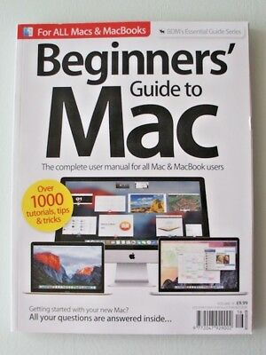 BDM's BEGINNERS GUIDE TO MAC - VOL 16 - ESSENTIAL GUIDE SERIES - NEW
