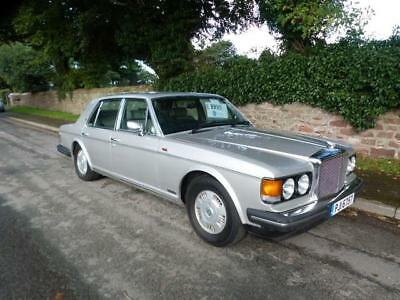 1987 Bentley Mulsanne, georgian silver, superb throughout. px welcome