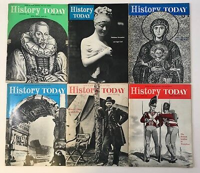 """""""History Today Magazine"""" 1965, 11 issues Jan. to Nov."""