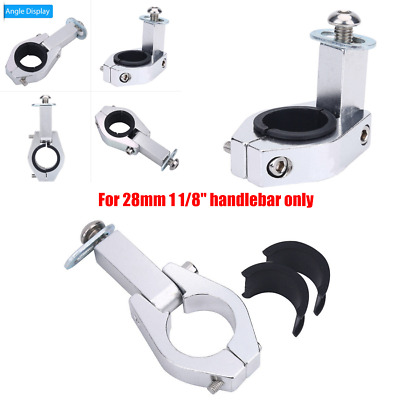 """Motorcycle  28mm 1 1/8"""" Handguard Clamp Brush Guards Clamps Hardware Kits"""
