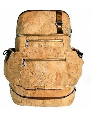 Earth Cork Horta Backpack, Tan, One Size, New in Box, Rare