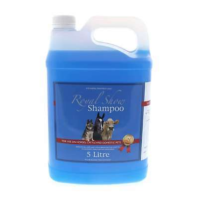 Shampoo Royal Show 5L For Horses Cattle And Domestic Pets