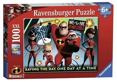 Disney Pixar: The Incredibles 2 XXL 100pc Jigsaw Puzzle [Puzzle]
