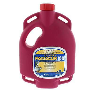 Coopers Panacur 100 Oral Anthelmintic for Sheep & Horses Fenbendazole 1L