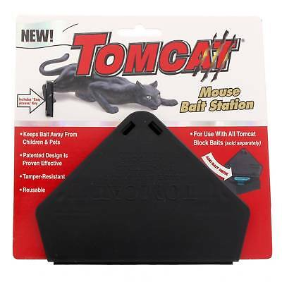 Tomcat Mouse Bait Station Mouse Rat Pest Rodent Lockable Key Lock Mice Safe