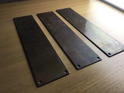 Antique Copper Finger Plates New Old Stock