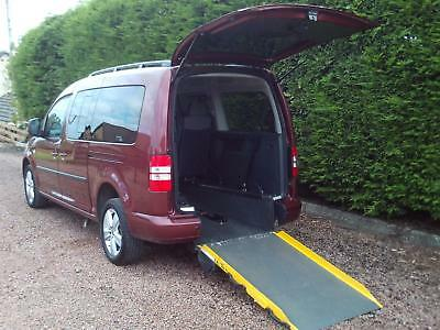 13 Volkswagen Caddy Maxi 1.6TDI WHEELCHAIR ACCESS VEHICLE DISABLED