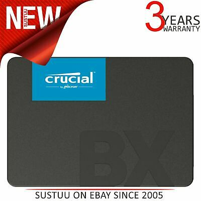 """Crucial BX500 120GB 3D NAND SATA 2.5"""" Internal Solid State Drive│CT120BX500SSD1"""