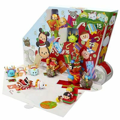 New Disney Tsum Tsum Christmas Advent Calendar 31 Pieces Xmas Pixar Official