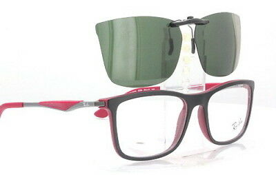 3f2accb85a Custom Fit Polarized CLIP-ON Sunglasses For Ray-Ban RB7029 55x17 Rayban 7029