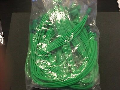Assorted Mod Smart Aqua Green Sleeved Cable Extensions