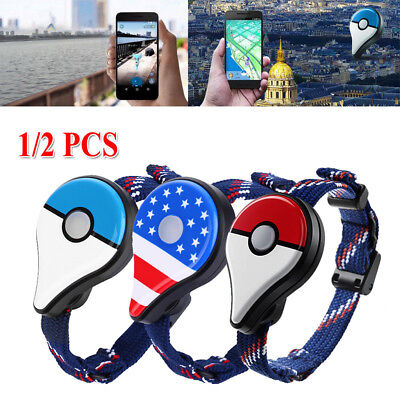 2/1 pcs Pokemon Go Plus Bluetooth Wristband Bracelet Watch Game For Nintendo