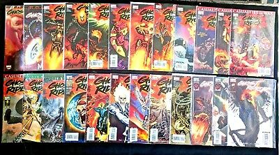 Ghost Rider #1-35 and Annuals (2006-09, Marvel) Complete Run.