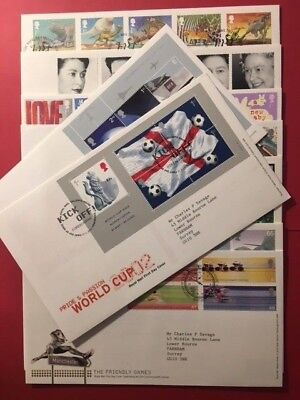 FDCs - GB 2002 First Day Covers - Commemorative - FDC MULTIPLE LISTING