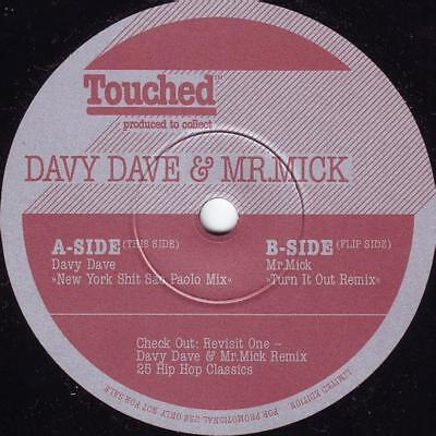 "Davy Dave - Mash Up's & Remixes Vol. 1 Vinyl 7"" 0716627"