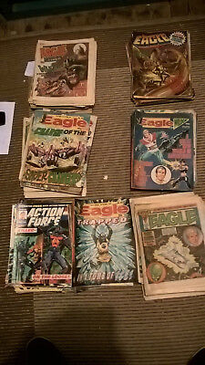 Eagle/ Eagle and Tiger/ Action Force/eagle+wildcatJOB LOT1985-6-7-8-9 Approx 300