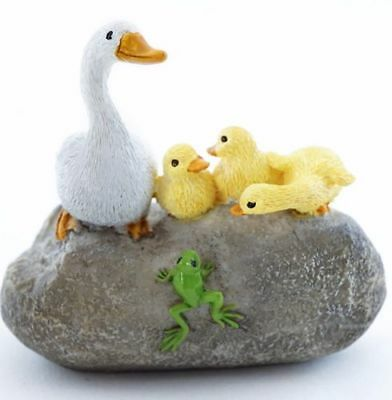 My Fairy Gardens Mini Mother Duck w/Ducklings Accessories Figure Miniature 4648