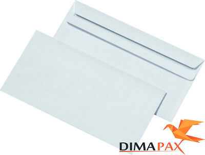 Envelopes Din Long Self Adhesive with / without Window White