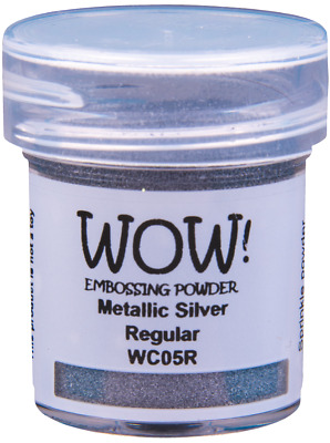 WOW! METALLIC EMBOSSING POWDER - COLOUR/GRADE CHOICE - free UK p&p on extra pots