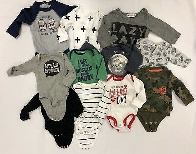 Lot Of Infant/baby Boy Clothes - Old Navy/carters/cloud Island/cat & Jack