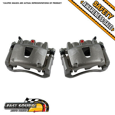 Front OE Brake Calipers 2006 2007 2008 2009 2010 Jeep Grand Cherokee Commander