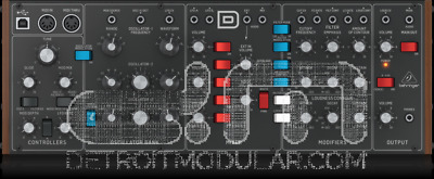 Behringer Model D : Analog Synthesizer : NEW : [DETROIT MODULAR]