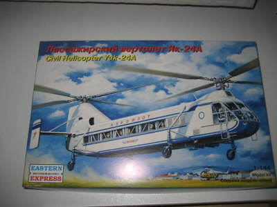 CYVIL HELICOPTER YAK-24A, Estern Expresss 1/144