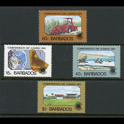 BARBADOS 1983 Commonwealth Day. SG 722-725. Mint Never Hinged. (AX089)