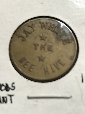 Corydon PA Jay White The Bee Hive good for 5c in trade token