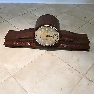Westminster Chimes Mantle Clock with Franz Hermle 1050-020 8 Day Movement