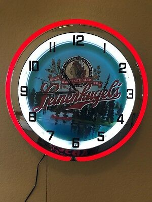Leinenkugel's Neon Wall Clock