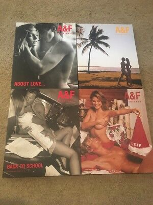 Abercrombie & Fitch Quarterly Summer, Spring, Christmas, Back To School 2002 Set