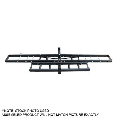Motorcycle Carrier Hitch Mount Hauler Rack - Steel - Dirt Bike MX Scooter