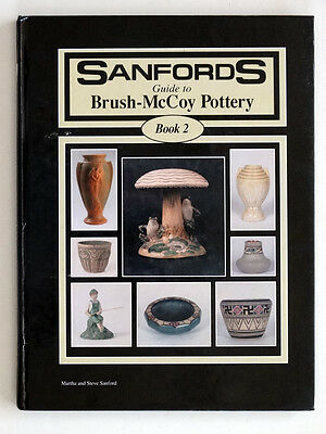 ANTIQUE Vintage SANFORD GUIDE to BRUSH McCOY ART POTTERY #2 Reference Book