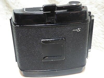 MAMIYA RB67 Pro S 120 ROLL FILM BACK HOLDER WITH DARK SLIDE. VIEW PICTURES