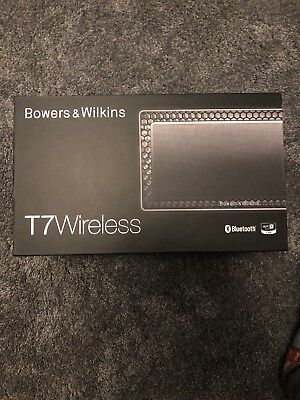 *NEW & SEALED* Bowers & and Wilkins T7 Portable Bluetooth Wireless Speaker BLACK