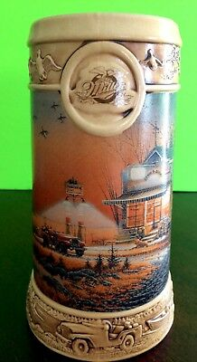 1997 Beer Stein-The Ducks Unlimited-Terry Redlin Collection-Miller