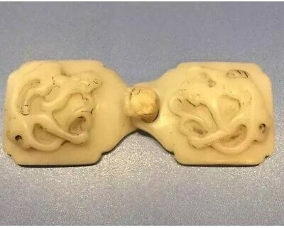 Antique Chinese White Jade Belts